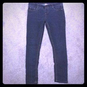 2/$16 Total girl 12 1/2 plus grayblue skinny jeans